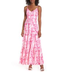 77d49a6f55686f Lyst - Lilly Pulitzer Lilly Pulitzer Lannette Embellished Chiffon ...