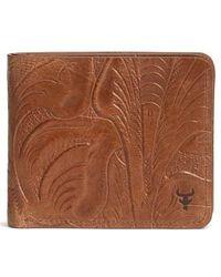 Trask - 'jackson' Slimfold Italian Steer Leather Wallet - - Lyst