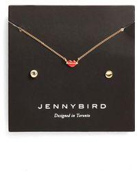 Jenny Bird - Kiss My Face Necklace Set - Lyst