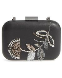 Vince Camuto - Almus Leather Minaudiere - Lyst