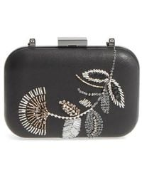 Vince Camuto   Almus Leather Minaudiere   Lyst