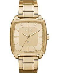Armani Exchange - Square Bracelet Watch - Lyst
