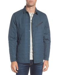Jeremiah - Bixby Quilted Shirt Jacket - Lyst