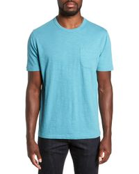YMC - Slubbed Pocket T-shirt - Lyst