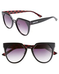 McQ - 53mm Cat Eye Sunglasses - Lyst