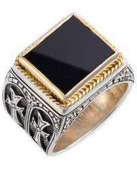 Konstantino - 'minos' Side Cross Ring - Lyst