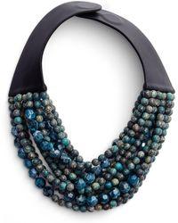 Fairchild Baldwin - Beaded Collar Necklace - Lyst