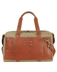 Tommy Bahama - Canvas & Leather Duffel Bag - Lyst