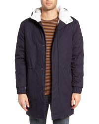 Native Youth - Fleece Lined Hooded Parka - Lyst