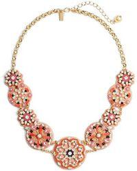 Kate Spade - Desert Garden Statement Necklace - Lyst