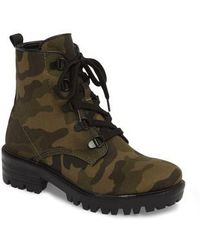 Kendall + Kylie - Military Boot - Lyst