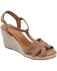 Andre Assous - Madina Espadrille Wedge Sandal - Lyst