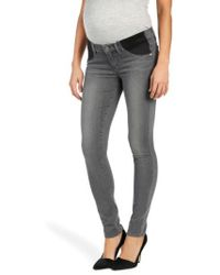 PAIGE - 'transcend - Verdugo' Ultra Skinny Maternity Jeans - Lyst