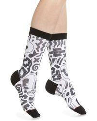 Stance - Looky Lou Crew Socks - Lyst