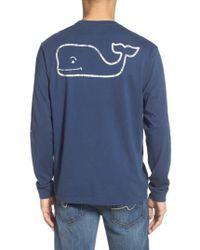 Vineyard Vines - Pocket Long Sleeve T-shirt - Lyst