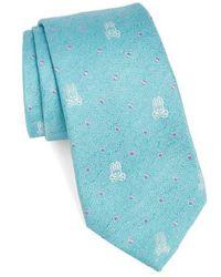 Psycho Bunny - Bunny Dot Silk Tie - Lyst