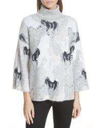 Kate Spade - Stallions Sweater - Lyst