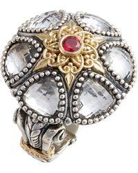 Konstantino - Pythia Crystal Statement Ring - Lyst