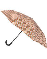 Burberry - Trafalgar Tb Monogram Umbrella - Lyst