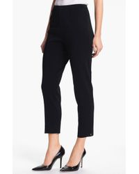 Ming Wang - Pull-on Ankle Pants - Lyst