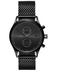 MVMT - Voyager Chronograph Mesh Bracelet Watch - Lyst