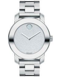 Movado - Bold Crystal Marker Bracelet Watch - Lyst