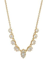 Nadri - Georgian Cubic Zirconia Necklace - Lyst