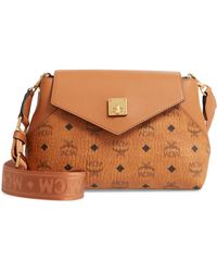 b3d2761800c MCM - Essentials Visetos Original Small Crossbody Bag - - Lyst