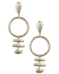 Melinda Maria - Sienna Drop Earrings - Lyst