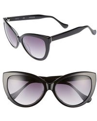 Chelsea28 - Curiosity 59mm Cat Eye Sunglasses - Lyst