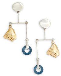 Faris - Portra Mobile Earrings - Lyst