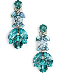 Sorrelli - Pine Crystal Drop Earrings - Lyst