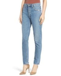 Agolde - Jamie High Waist Classic Fit Nonstretch Denim Jeans - Lyst