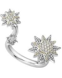 Lagos - North Star Diamond Ring - Lyst