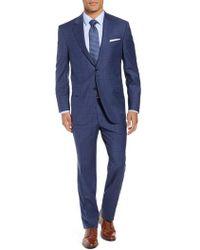Peter Millar - Flynn Classic Fit Plaid Wool Suit - Lyst