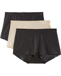 Tc Fine Intimates - 3-pack High Waist Boyshorts - Lyst