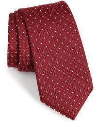 Calibrate - Bre Dot Cotton & Silk Tie - Lyst