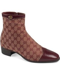 441f50a6754 Gucci Redoute Crocodile Tall Boot in Brown for Men - Lyst