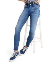 Madewell - Roadtripper Crop Skinny Jeans - Lyst