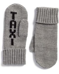 Kate Spade - Taxi Mittens - Lyst
