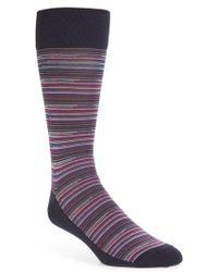 Calibrate - Stripe Socks - Lyst