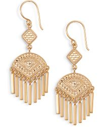 Anna Beck - Fringe Earrings - Lyst