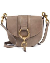 Frye - Small Ilana Harness Leather Saddle Bag - Lyst