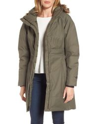 The North Face | Arctic Ii Waterproof 550-fill-power Down Parka With Faux Fur Trim | Lyst