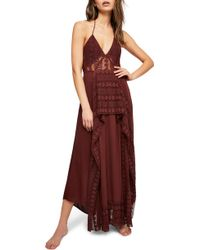 Free People - Endless Summer By Can't Wait To Swim Maxi Dress - Lyst