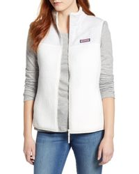 Vineyard Vines - Mix Media Fleece Vest - Lyst