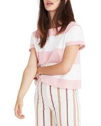 Madewell - Setlist Boxy Stripe Tee - Lyst