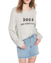 Wildfox - Dogs - Baggy Beach Jumper Pullover - Lyst