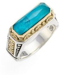 Konstantino | 'iliada' Etched Ring | Lyst