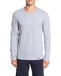 Hanro - Living Long Sleeve T-shirt - Lyst